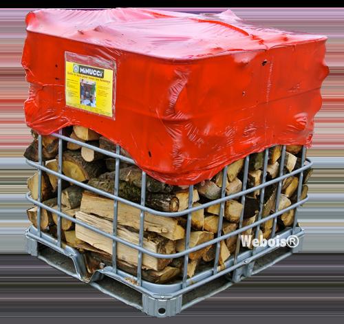 BOX de bois de chauffage
